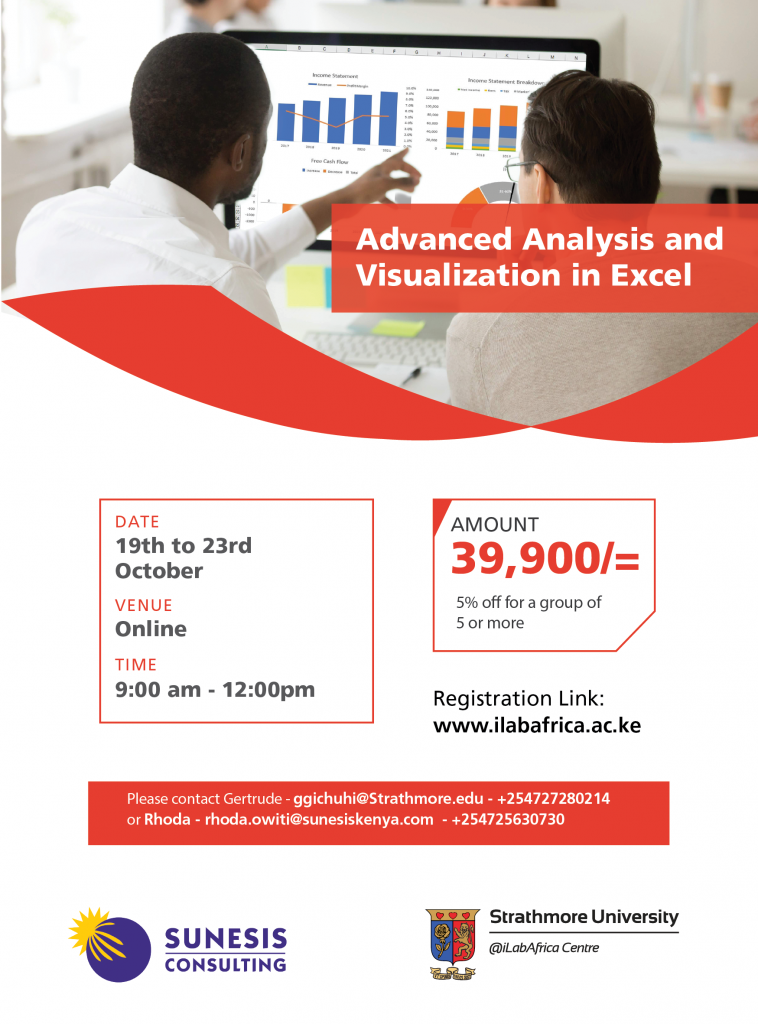 Advanced Analysis & Visualization in Excel-01