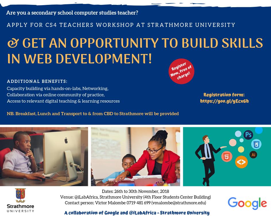 iLabAfrica – Google PD (Professional Development) for