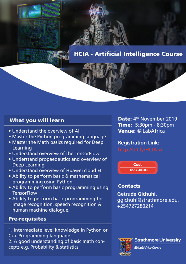 HCIA---Artificial-Intelligence-Course