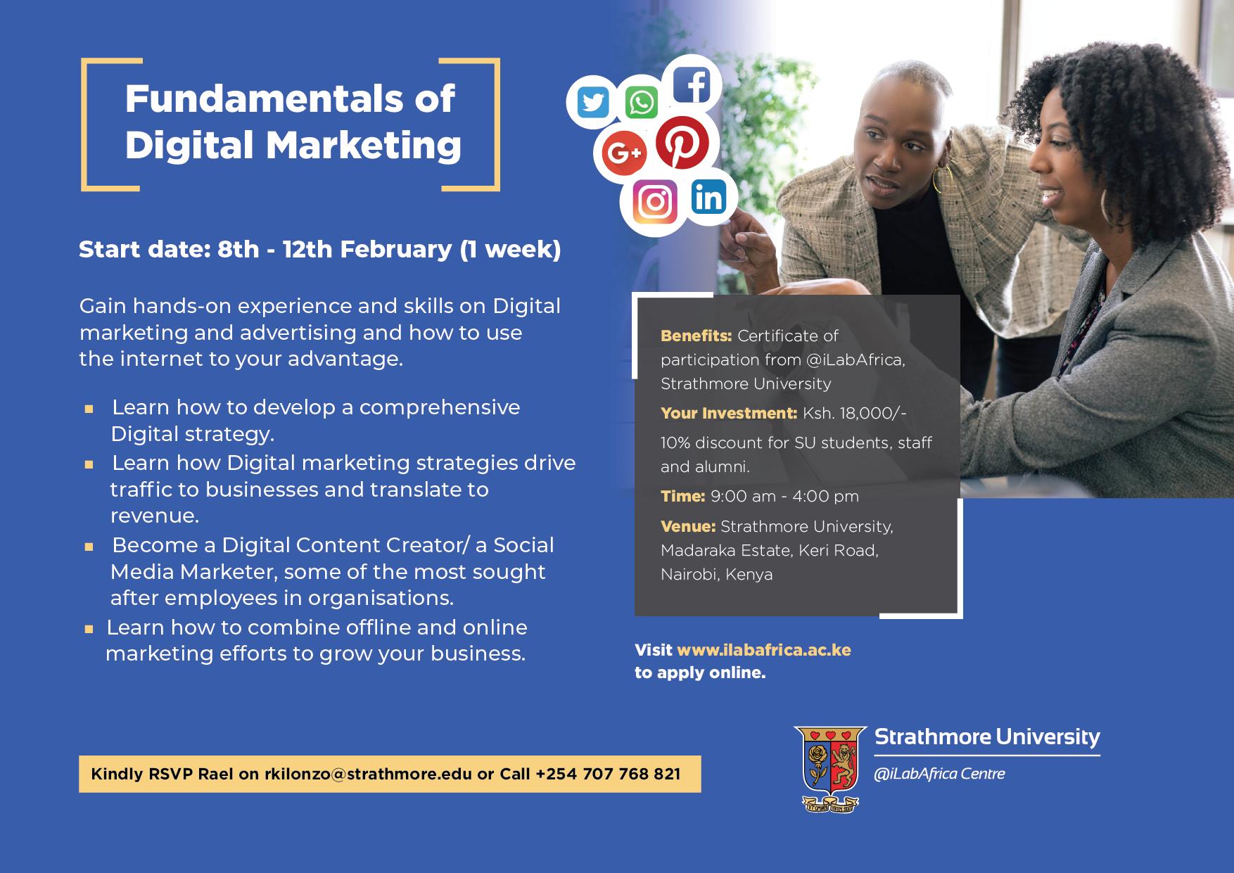 Digital Marketng @ilabAfrica 2021-01